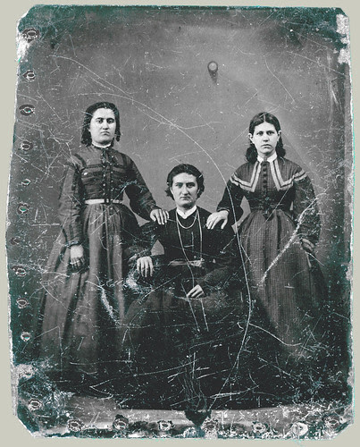 Tintype Three Women