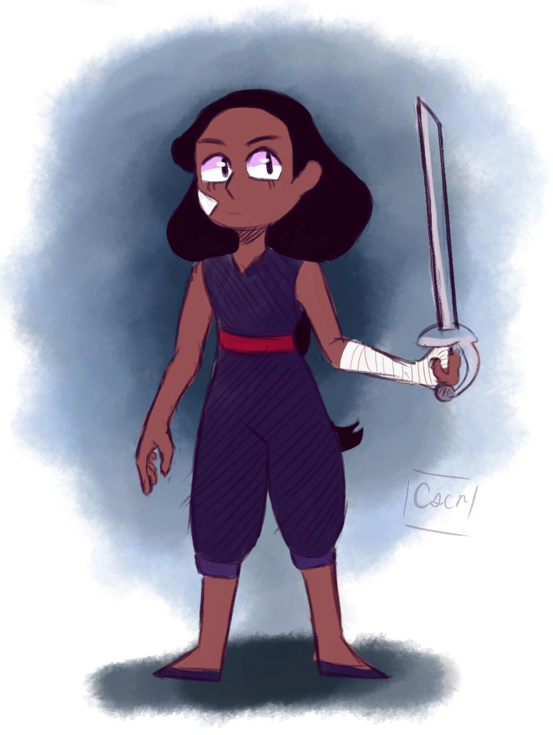 quick Connie doodle