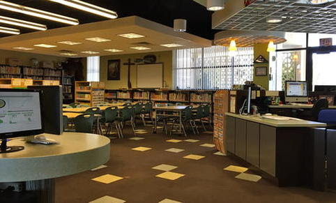 Library St Viator Parish School In Las Vegas Nv