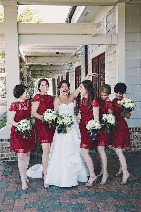 Chic Princess Anne Country Club Military Wedding   Red