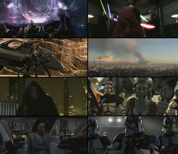 Revenge of the Sith theatrical trailer montage