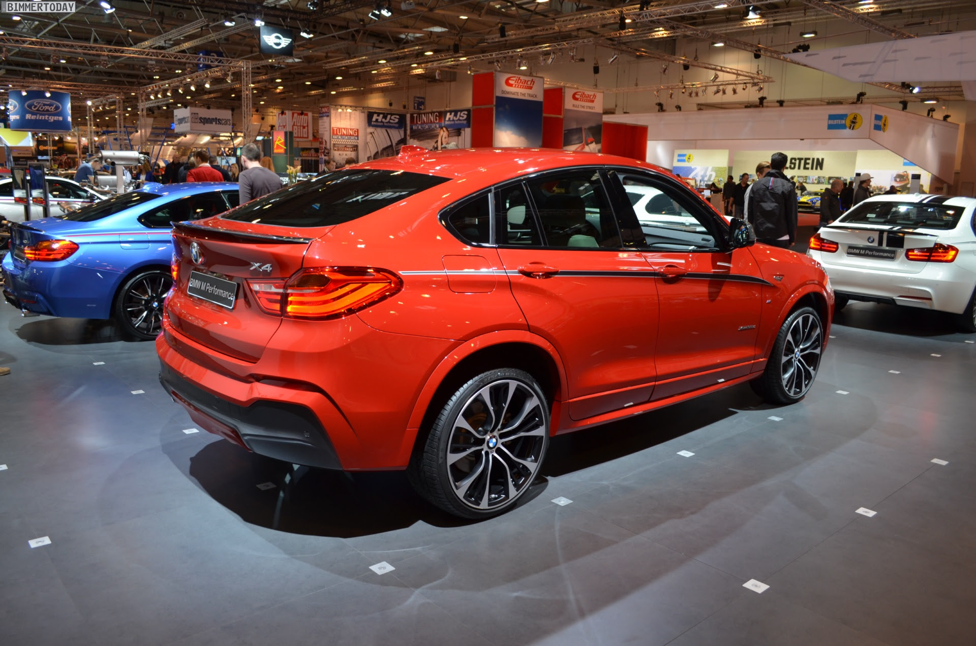 BMW M Performance tuning for the BMW X4 at 2014 Essen Motor Show