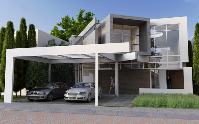 Jurica Residence #55 Front Elevation - modern - other metro - by ...