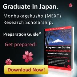 Beasiswa Pemerintah Jepang (MONBUKAGAKUSHO)