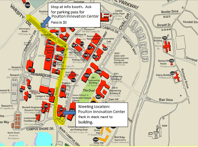 Ncsu Centennial Campus Map | Time Zone Map