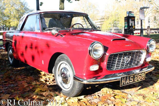 Lancia Aprilla, Avenue Drivers Club, Queen Sq, Bristol