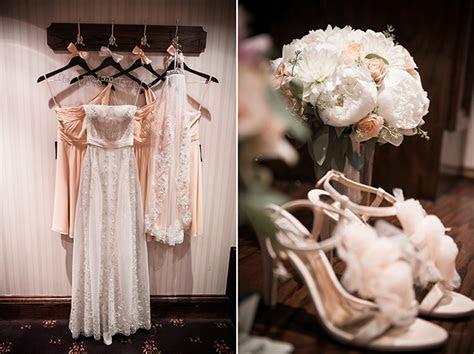 Peach Rustic Glam Wedding   Glamour & Grace