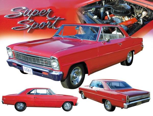 1962 79 Nova Parts Chevy Nova Chevy Ii Restoration Parts