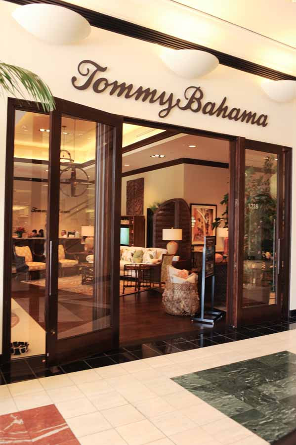 Tommy Bahama Home Store opened in Fashion Island Newport Beach to ...