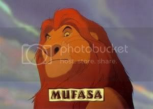 Mufasa from THE LION KING