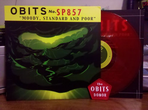 Obits - Moody, Standard and Poor Lp - Red Vinyl