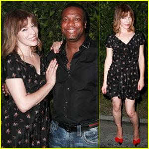 Milla Jovovich & Chris Tucker Reunite at 'The Fifth Element' Cinespia Screening