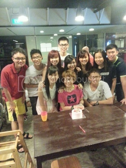 Happy birthday with the happy class