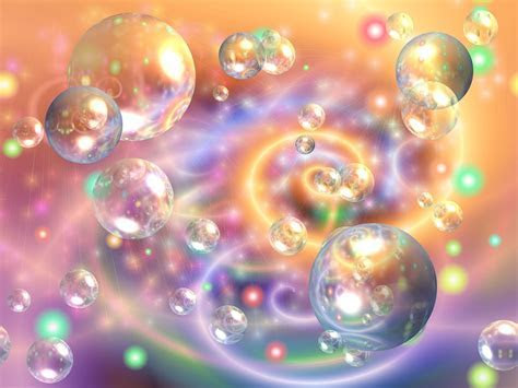 Free illustration: Bubbles, Fantasy, Colorful, Lights