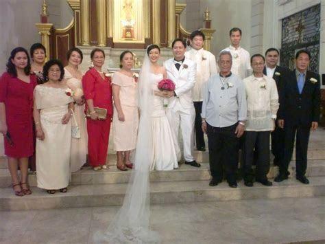 Philippines Principal Sponsors Wedding Dress Wedding