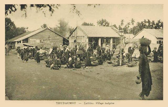 THUDAUMOT - Laithieu. Village indigène