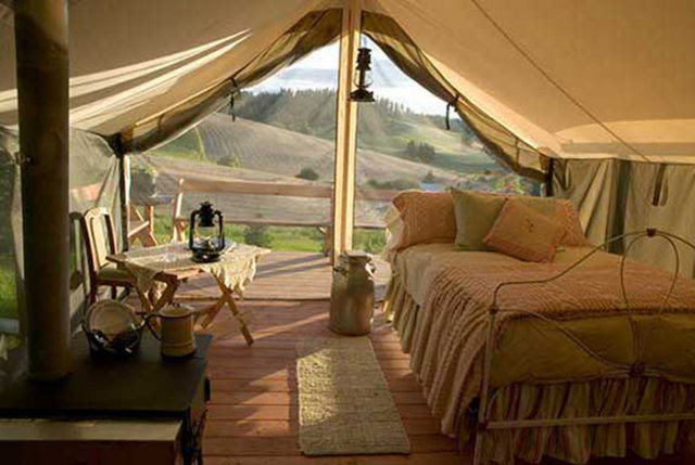 Camping for the Rich