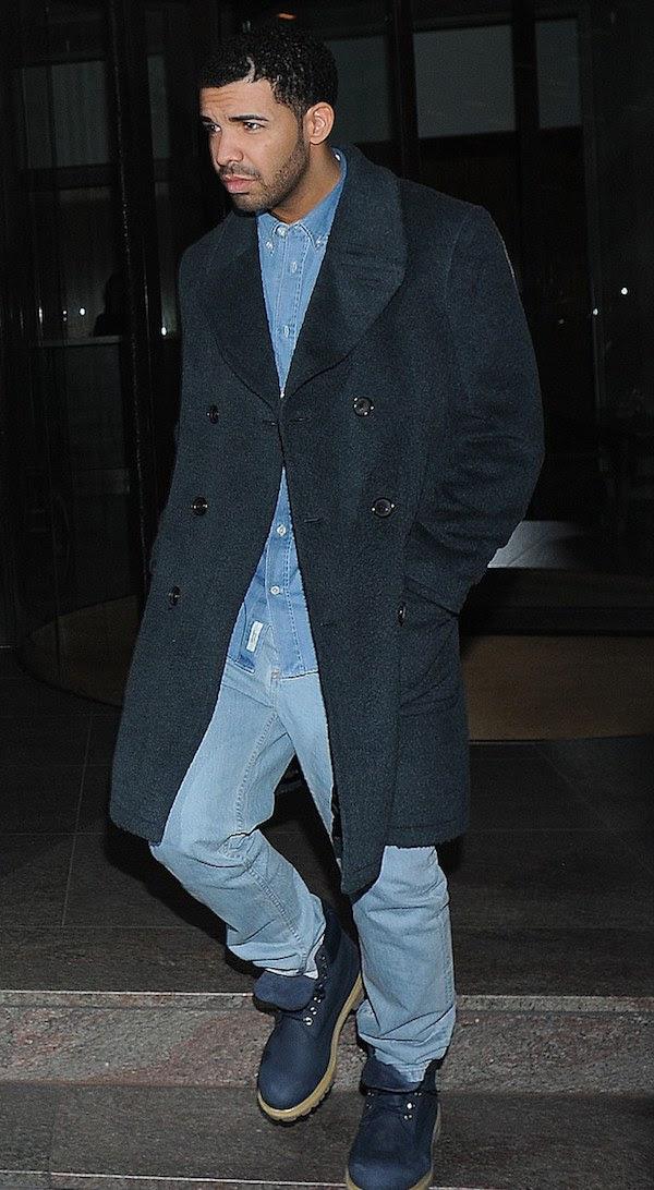 drake Rihanna's Nobu London Raif Adelberg Drugs Hoody, Distressed Jeans, and Christian Louboutin Silver Pumps