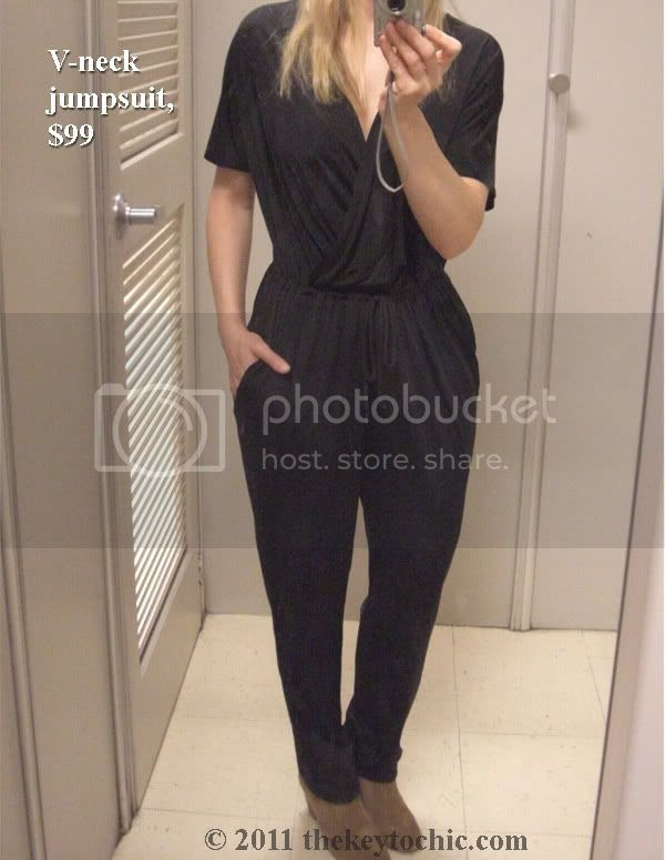 Kardashian Kollection Sears black jumpsuit romper