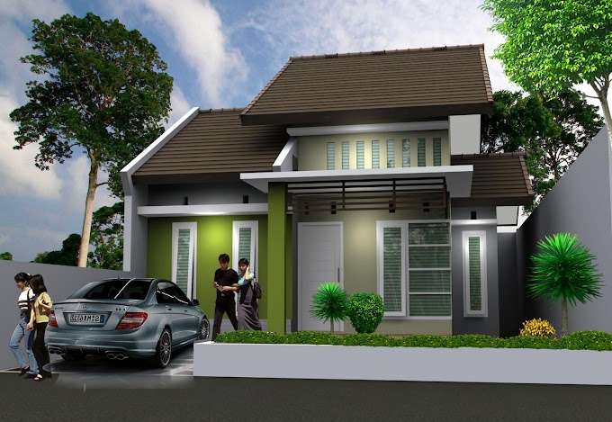 Hiasan Rumah Minimalis Warna Hijau | Ide Rumah Minimalis