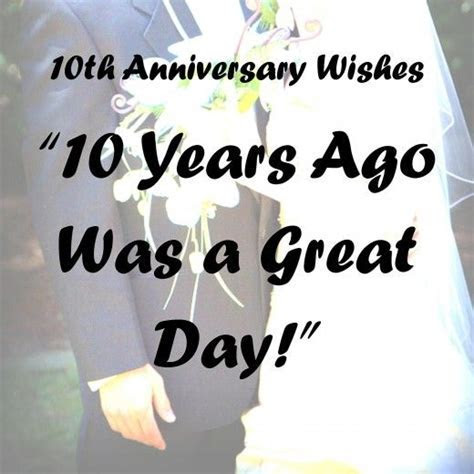 10th Anniversary Wishes, Quotes, and Poems   Anniversary
