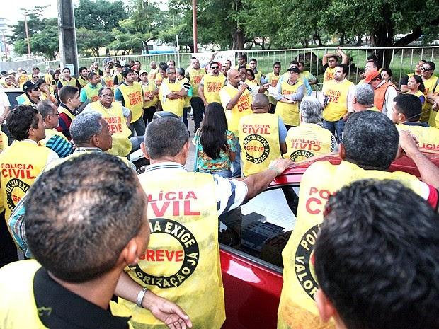 Governador do MA descarta reajuste a policiais e encerra negociação