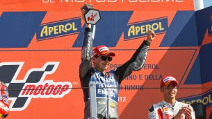 Lorenzo Misano Race