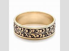 Men's Engraved Wedding Band #101050   Seattle Bellevue   Joseph Jewelry