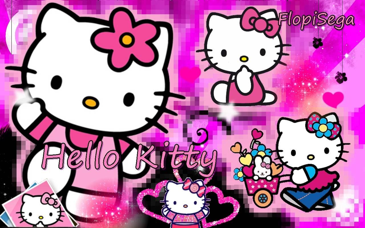 Hello Kitty Wallpaper 1366x768