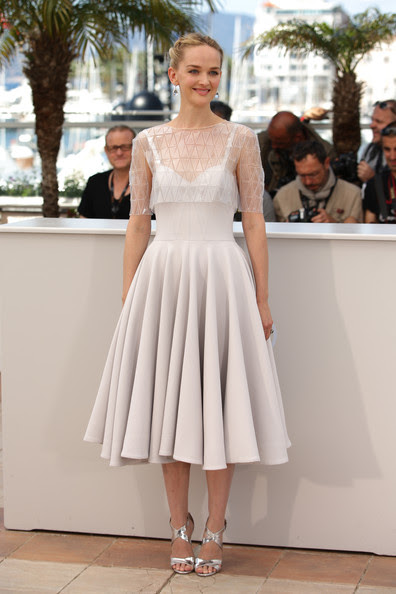 "Jess Weixler - ""The Disappearance Of Eleanor Rigby"" Photocall - The 67th Annual Cannes Film Festival"