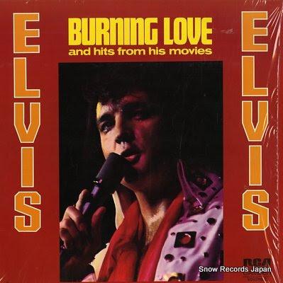 PRESLEY, ELVIS burning love