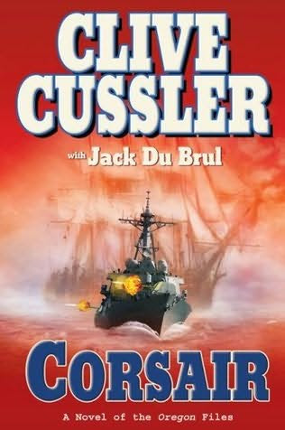 book cover of Corsair  (Oregon Files, book 6)byClive Cussler and Jack Du Brul