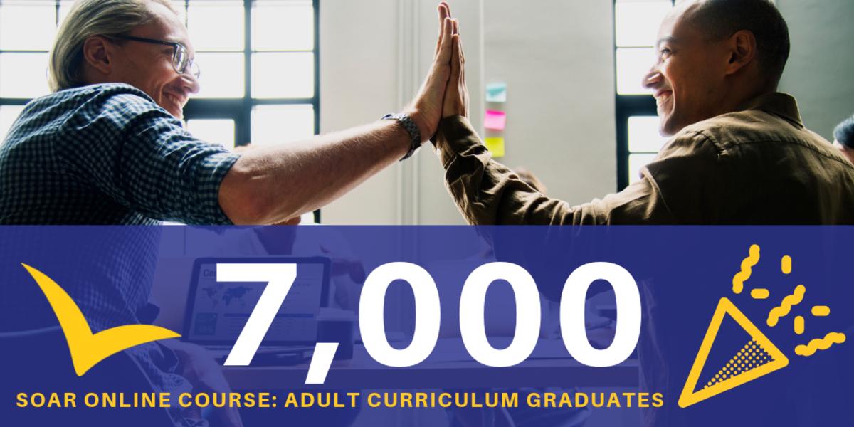 7000 SOAR Online Course: Adult Curriculum Graduates