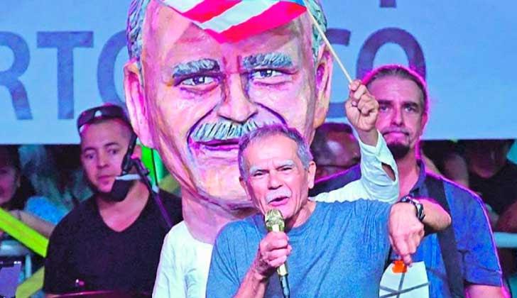 Oscar López Rivera creará una fundación para descolonizar a Puerto Rico .
