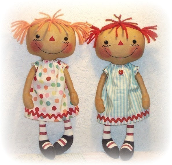 Cloth Doll Pattern, PDF, Rag Doll Pattern, Sewing Pattern, Ragdoll, Soft Doll, Softie