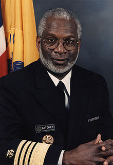 US Surgeon General David Satcher
