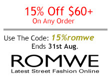 June Romwe Coupon 2014