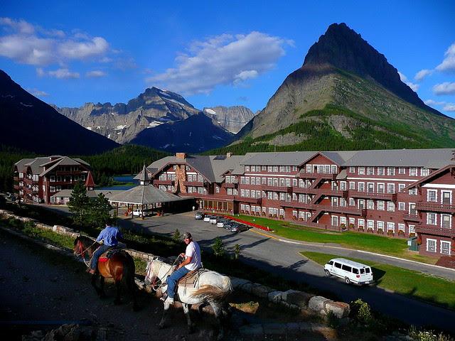 P1160908_2 Many Glacier Hotel, Early Morning