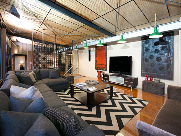 Chic New York Warehouse Style Home In Australia