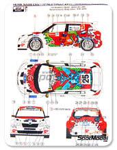 Calcas 1/24 Reji Model - Skoda Fabia S2000 EVO Total - Nº 25 - Kruuda + Jarveoja - Ypress Rally 2011 para kit de Belkits BEL-004