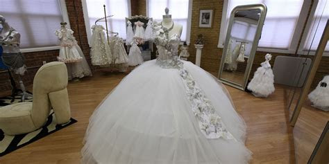 80 Pound Wedding Dresses Bedazzled In Jewels? This Gypsy