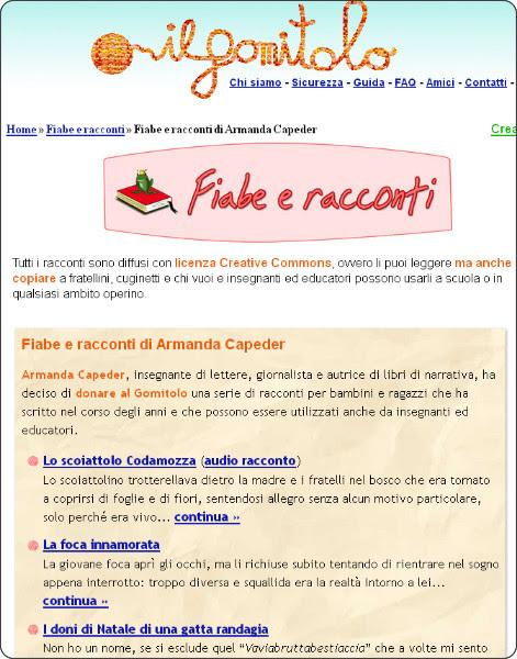 http://www.ilgomitolo.net/racconti/armanda_capeder.html