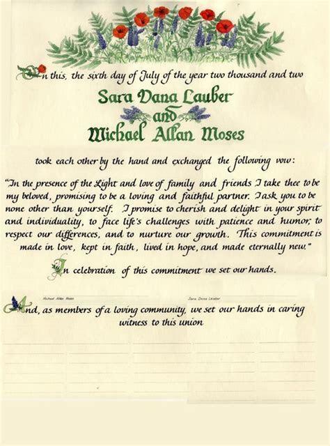 25  best ideas about Wedding Certificate on Pinterest