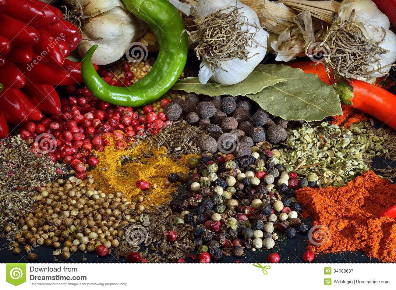 Colorful Spices Roya