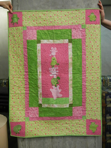 Quilt for Baby Girl 2513