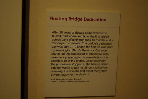 Floating Bridge opening