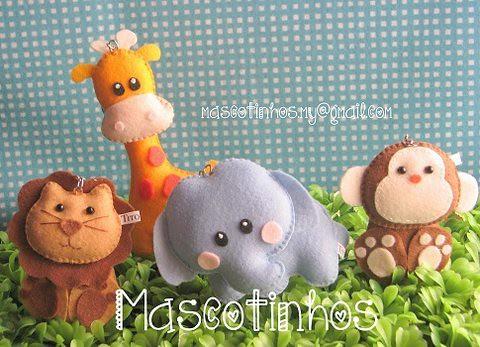 Mascotinhos by Mascotinhos em Feltro
