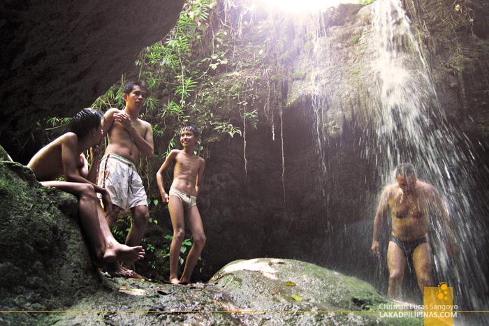 Kalubihon Falls in Iligan City