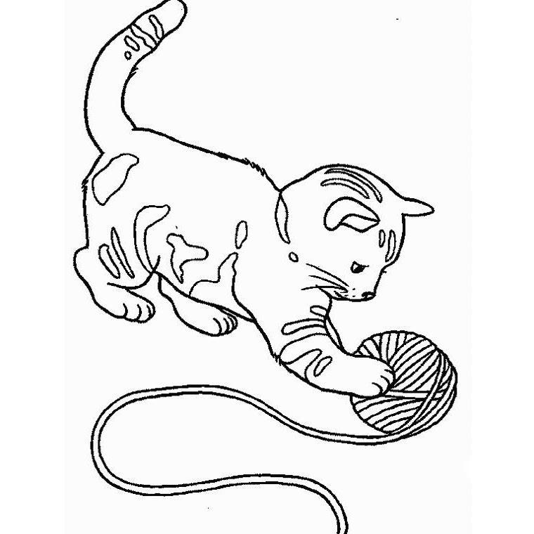 260 Dessins De Coloriage Chat à Imprimer Sur Laguerchecom Page 1