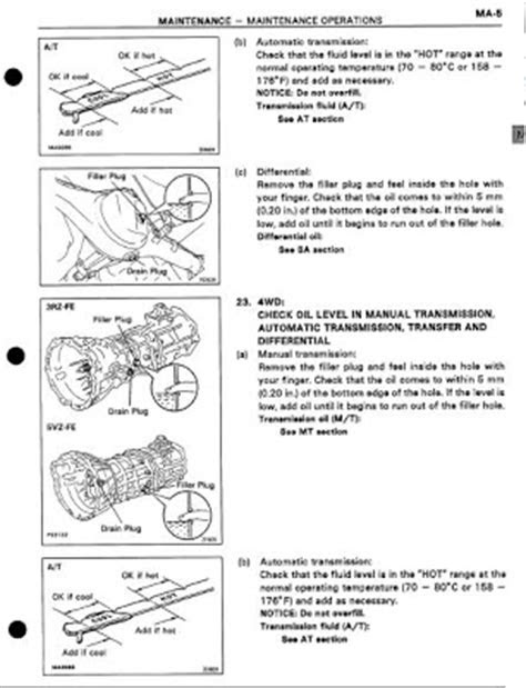 repair-manuals: Toyota Tacoma 1996 Repair Manual
